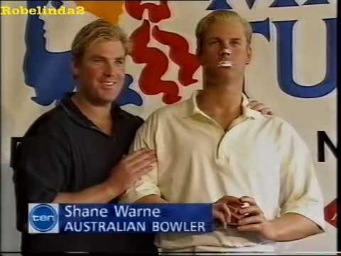 'Fat' Shane Warne pissed off with dickhead journalist 1997
