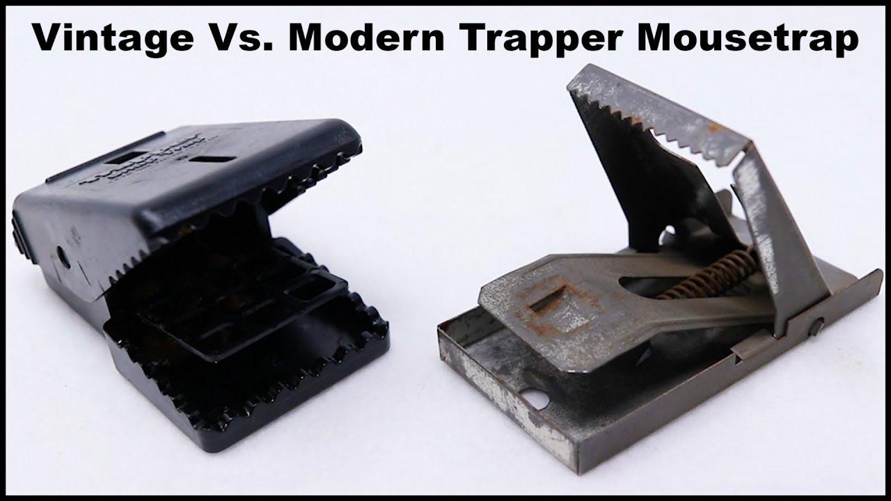 vintage-metal-vs-modern-plastic-trapper-mousetrap-mousetrap-monday