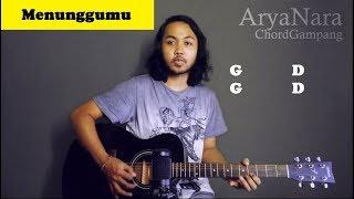 Chord Gampang (Menunggumu - Peterpan) by Arya Nara (Tutorial Gitar) Untuk Pemula