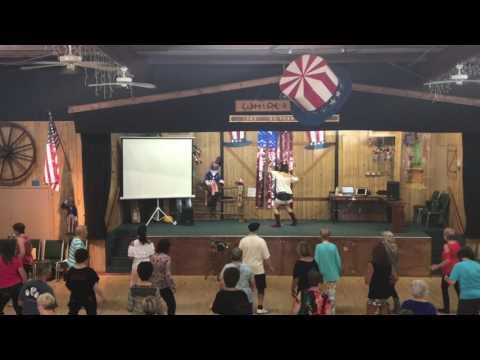 Woo Woo Line Dance by Rachael McEnaney-White