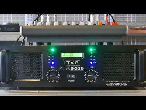 Công suất CA 9000 chính hãng TKT  sound - chuyên đánh sub đôi-full đôi