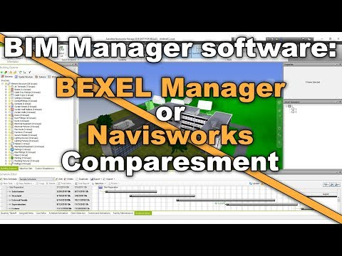 BIM Manager Software: BEXEL Manager Or Navisworks