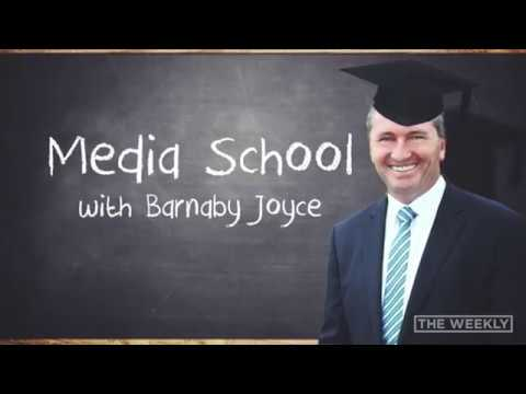 The Weekly: Media School with Barnaby Joyce [WEB EXCLUSIVE]