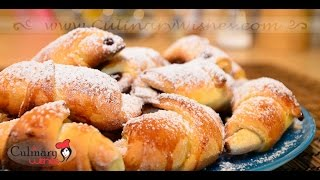 Pastry Horns filled with Jam and Turkish Delight Recipe