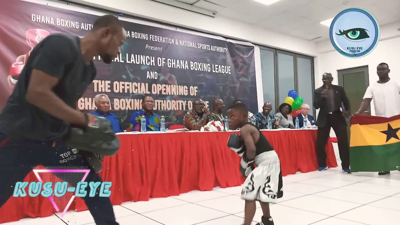 THE YOUNGEST GHANAIAN BOXER