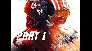 STAR WARS SQUADRONS Walkthrough Part 1 - FIRST HOUR (PC Gameplay)