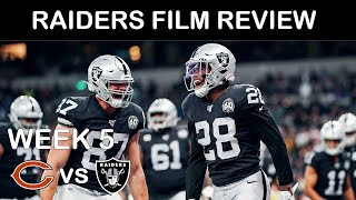 Raiders Film Review: Week 5 vs Bears