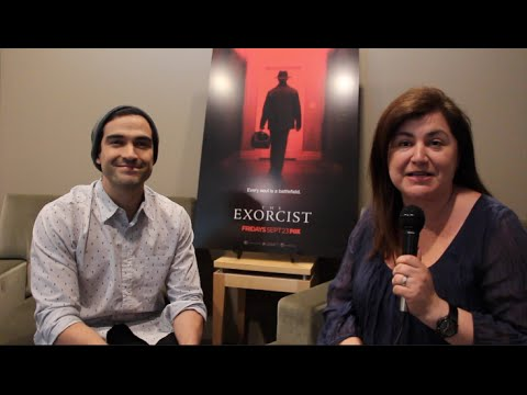 THE EXORCIST - Interview with Alfonso Herrera