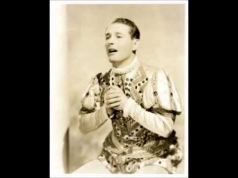 """Jan Kiepura, """"Il Trovatore"""" stretta, Parlophone 1933."""