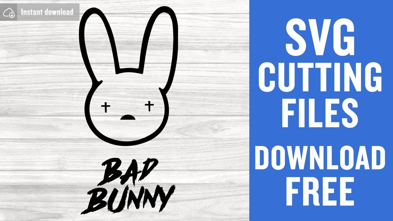 Bunny Bad Svg Free Cutting Files For Cricut Silhouette Free Download Youtube