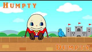 歌付き英語童謡「Humpty Dumpty」です。 かわいいタマゴが、塀から落ち...
