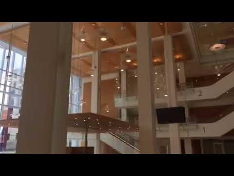Visite de l'intérieur du nouveau Palais de justice de Paris