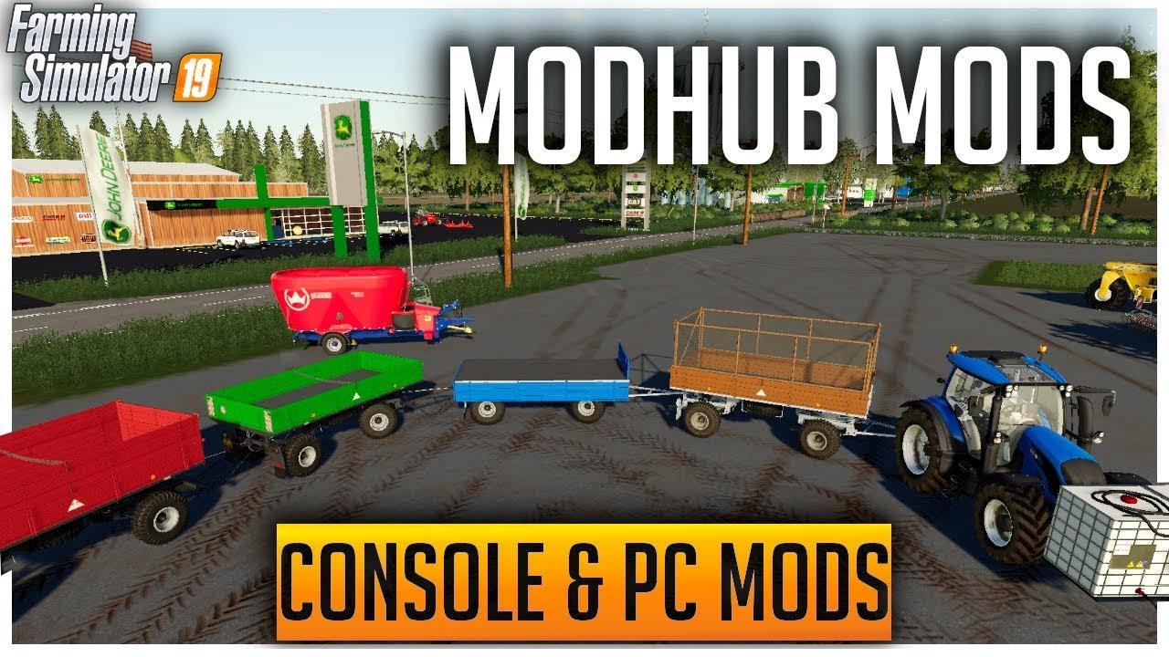 New ModHub Mods | Farming Simulator 19 Console & PC Mods
