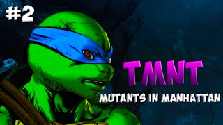 Черепашки-Ниндзя: Мутанты в Манхэттене. Прохождение #2 (TMNT: Mutants in Manhattan Gameplay 2016)