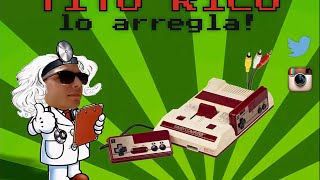 Tito Rico lo arregla! Salida AV a Famicom PCB Rev.1