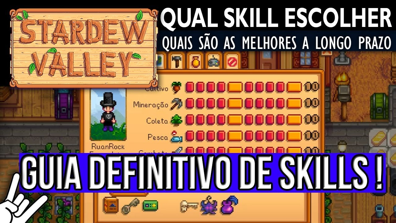 stardew valley how to get all skills up