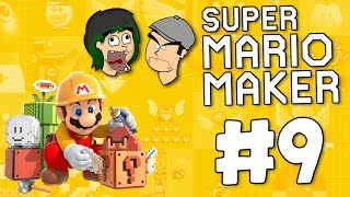 CHRIS RAGE! | SUPER MARIO MAKER #9 | DAGames
