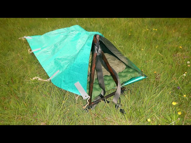 No Sleeping bag Overnighter in Bushcraft Heaven