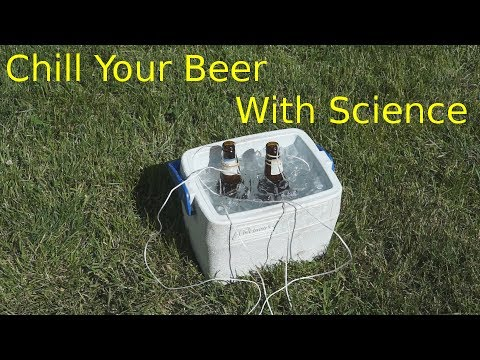 Fastest Way To Chill Beer (with Science)