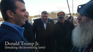 Vermin Supreme Demolishes Trump Supporters! (feat. Donald Trump Jr.)