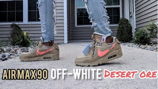 Air Max 90 OFF-WHITE DESERT ORE from