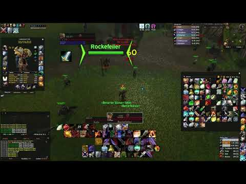 Classic WoW Warrior Duel. - Dual Wield VS 2H