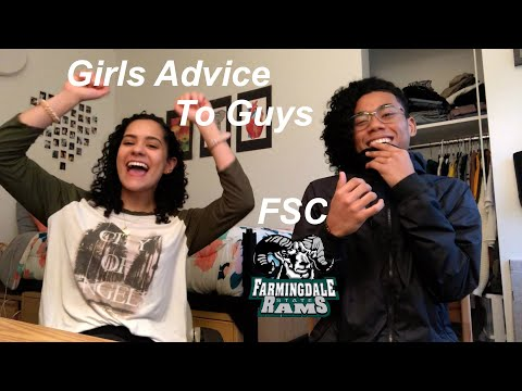 Girls Advice To Guys (Farmingdale State College Edition)