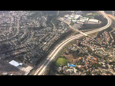 Flight on a Cessna 172SP N1955L from Montgomery field MYF around San Diego
