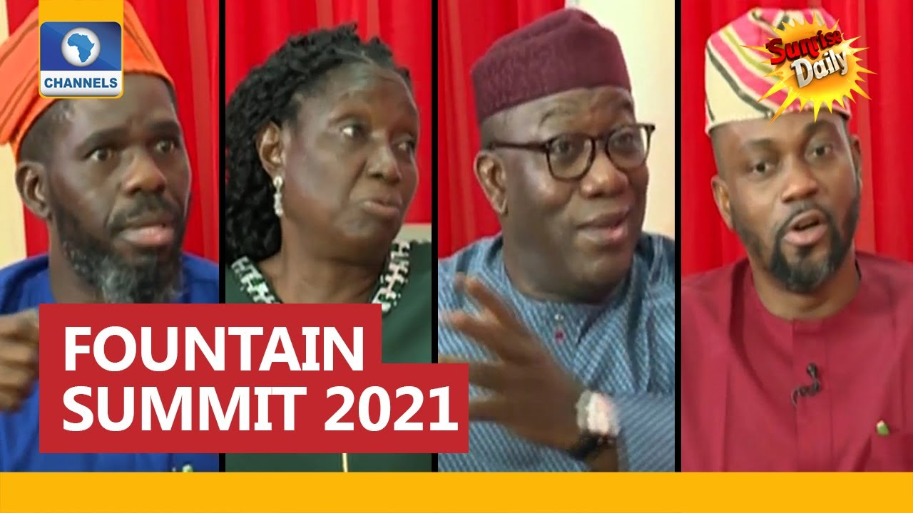 Download Fountain Summit 2021: Fayemi, Aides Seek More Investments In Ekiti
