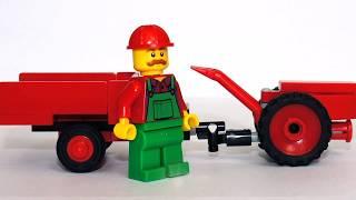 David Bradley garden tractor з Лего (міні-інструкція)
