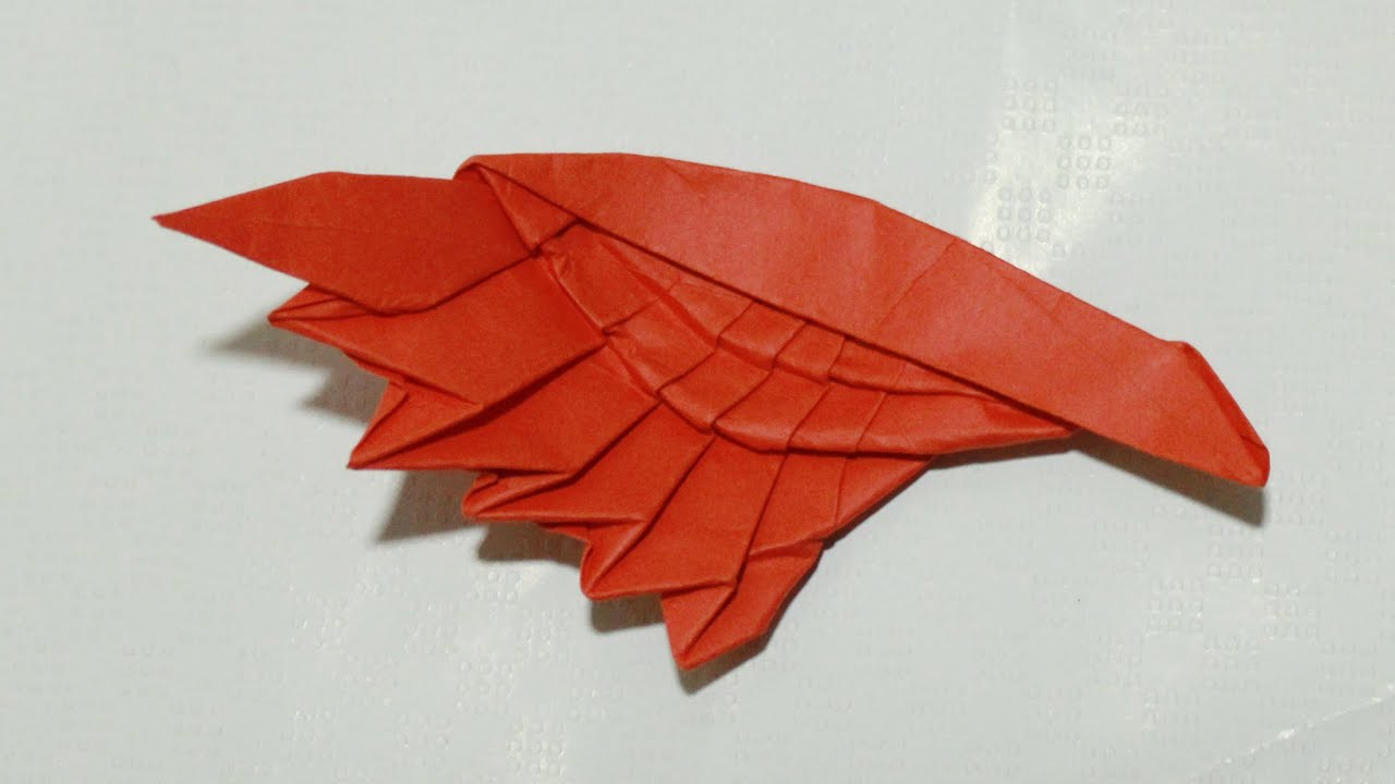 Origami Wing Tutorial