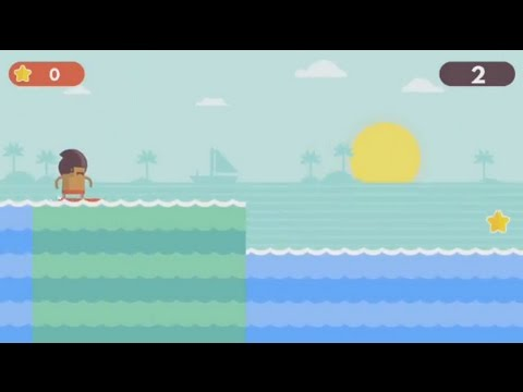 Surfingers (Android) - gameplay.