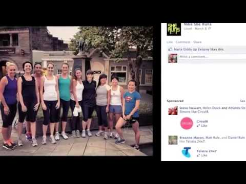 Nike She Runs Case Study -  MFA Awards 2012 Best Integrated Media Campaign