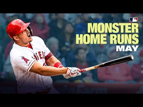 Monster May shots! MLB's Longest Home Runs from May (Bryce Harper, Mike Trout and others!)