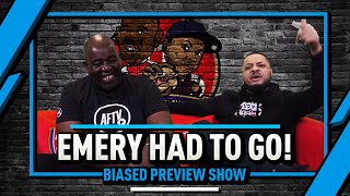 Emery Had To Go! | Biased Preview Show Ft. Troopz