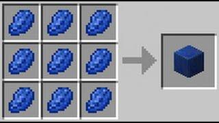 Minecraft Lacivert Taş Bloğu Nasıl Yapılır