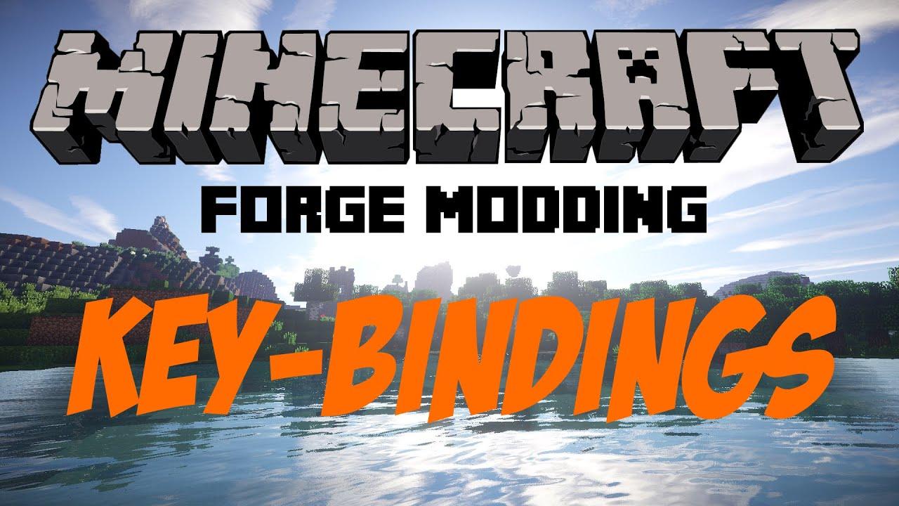 Key-Bindings - Minecraft Forge Mods programmieren 8.8 [GERMAN/HD] - Forge  Modding #8
