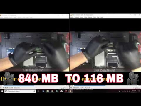 How to Convert / Compress Large Video Files Without Losing Quality