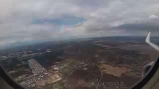 Flight into Long Island MacArthur Airport