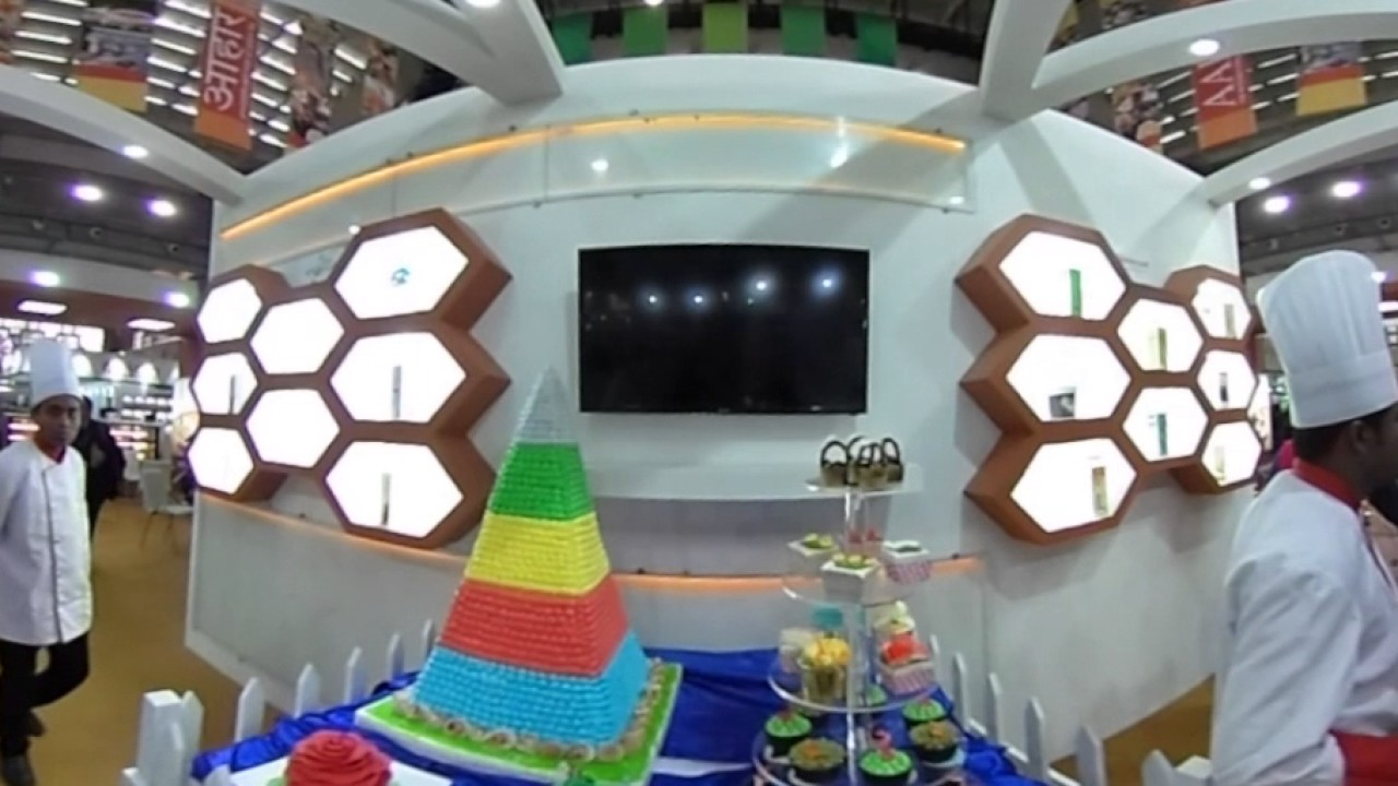 Experience Shineroad Foods India Stall in 360 VR at Aahar Food Expo 2017
