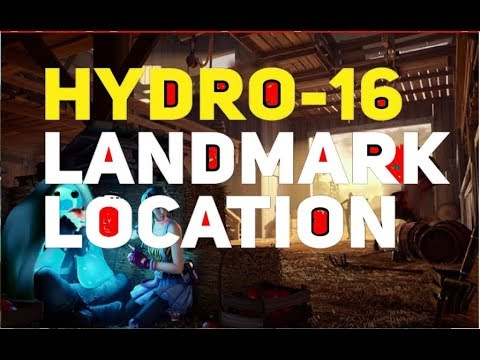 Hydro 16 Location - Fortnite Chapter 2 Season 2 Overtime Challenges Part 1 -Hydro 16 Mini Map Guide