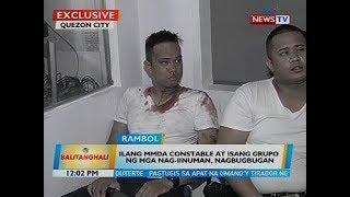 Ilang MMDA constable at isang grupo ng mga nag-iinuman, nagbubugan