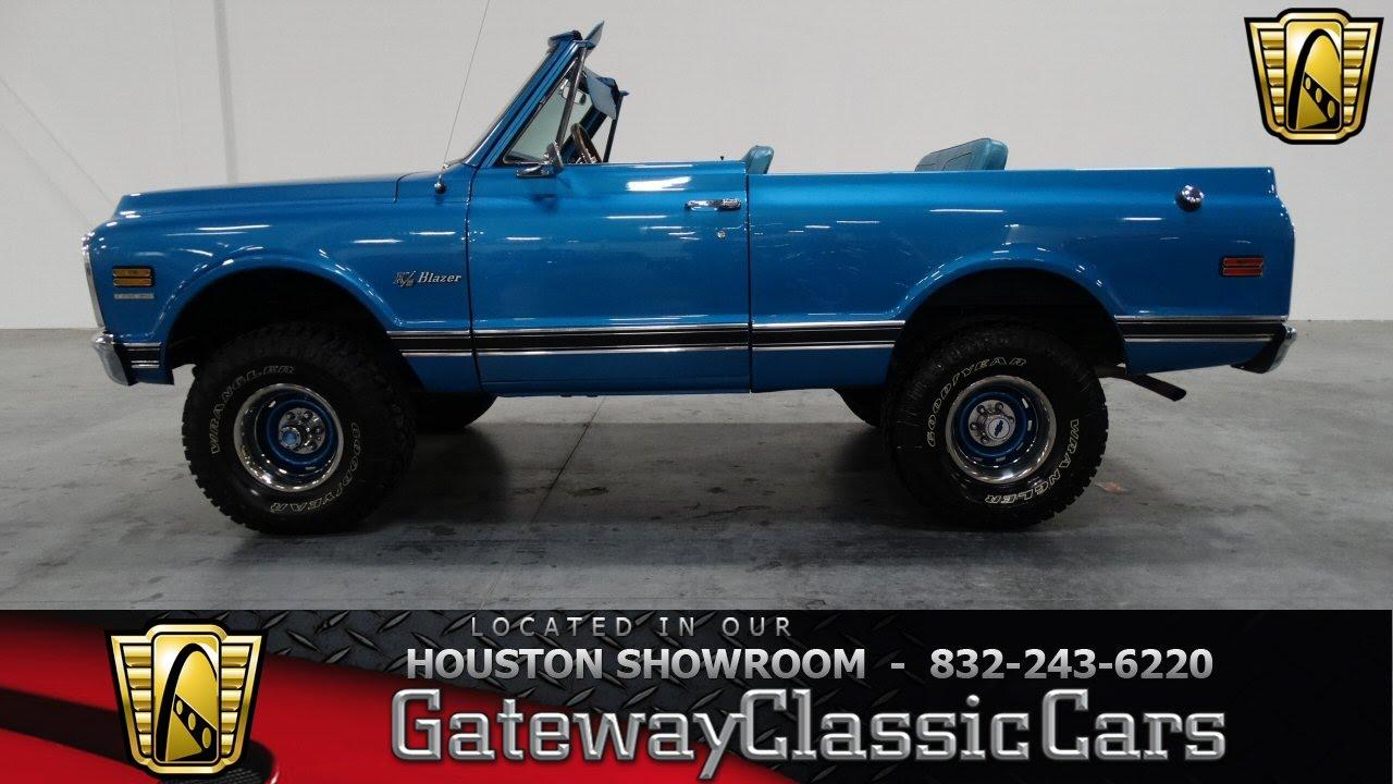 1970 Chevy K5 Blazer 4x4 For Sale