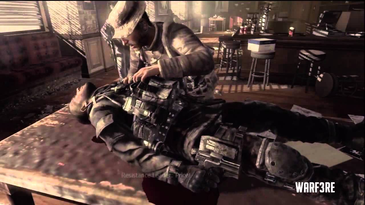 Huge Spoiler Mw3 Soap S Death Yuri Gets Busted Youtube