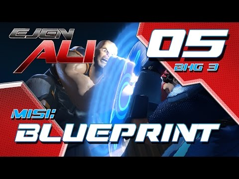 Ejen Ali (Episod 5 Bhg 3) - Misi : BLUEPRINT