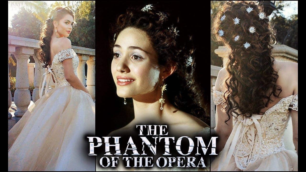 Christine Daae Phantom Of The Opera Makeup Hair Dress Formal