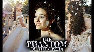 "Christine Daae  ""Phantom Of The Opera"" Makeup Hair & Dress   Formal 2019"