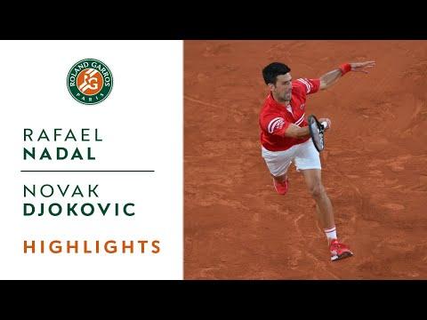 Rafael Nadal vs Novak Djokovic - Semifinal Highlights   Roland-Garros 2021