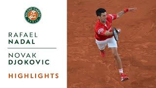 Download Rafael Nadal vs Novak Djokovic - Semifinal Highlights | Roland-Garros 2021