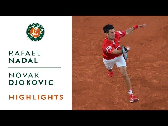 Rafael Nadal vs Novak Djokovic - Semifinal Highlights | Roland-Garros 2021